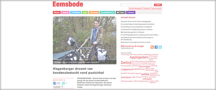 In the papers: Eemsbode