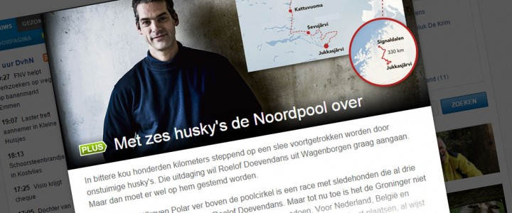 In the papers: Dagblad van het Noorden